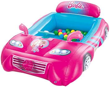 Piscina de Bolas Hinchable Bestway Barbie Coche Deportivo: Amazon ...