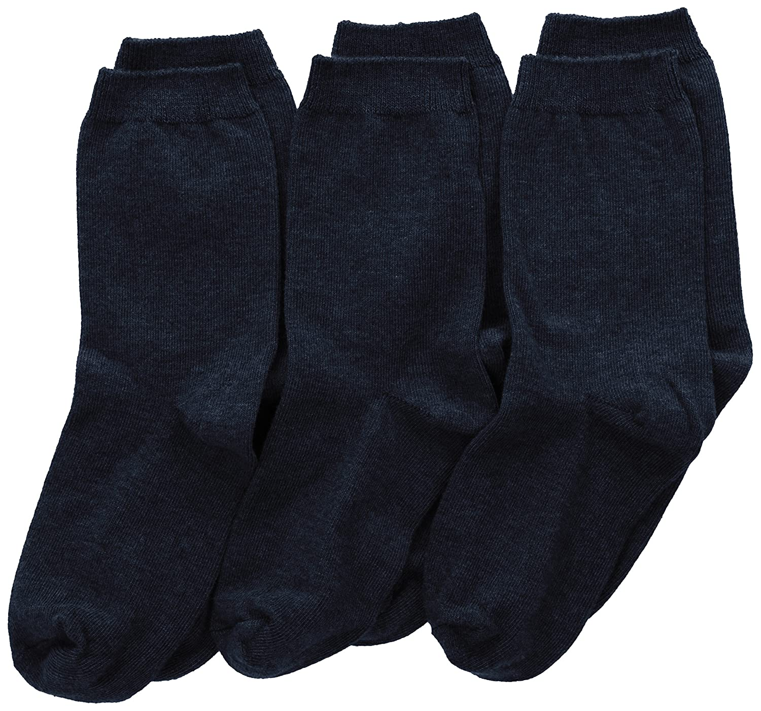 Jefferies Socks Big Boys' School Uniform Cotton Crew Sock Three-Pack Jefferies Socks Boys 8-20 8018