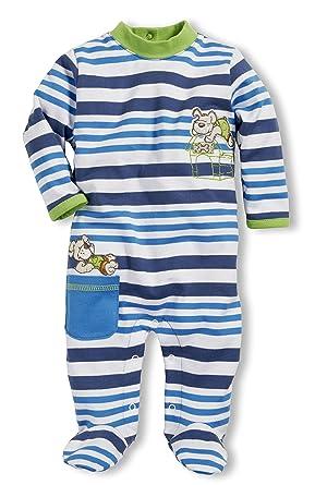 9ecd1abd9f6cf Schnizler Pyjama Overall Dog and Bear - Pyjama - Mixte bébé