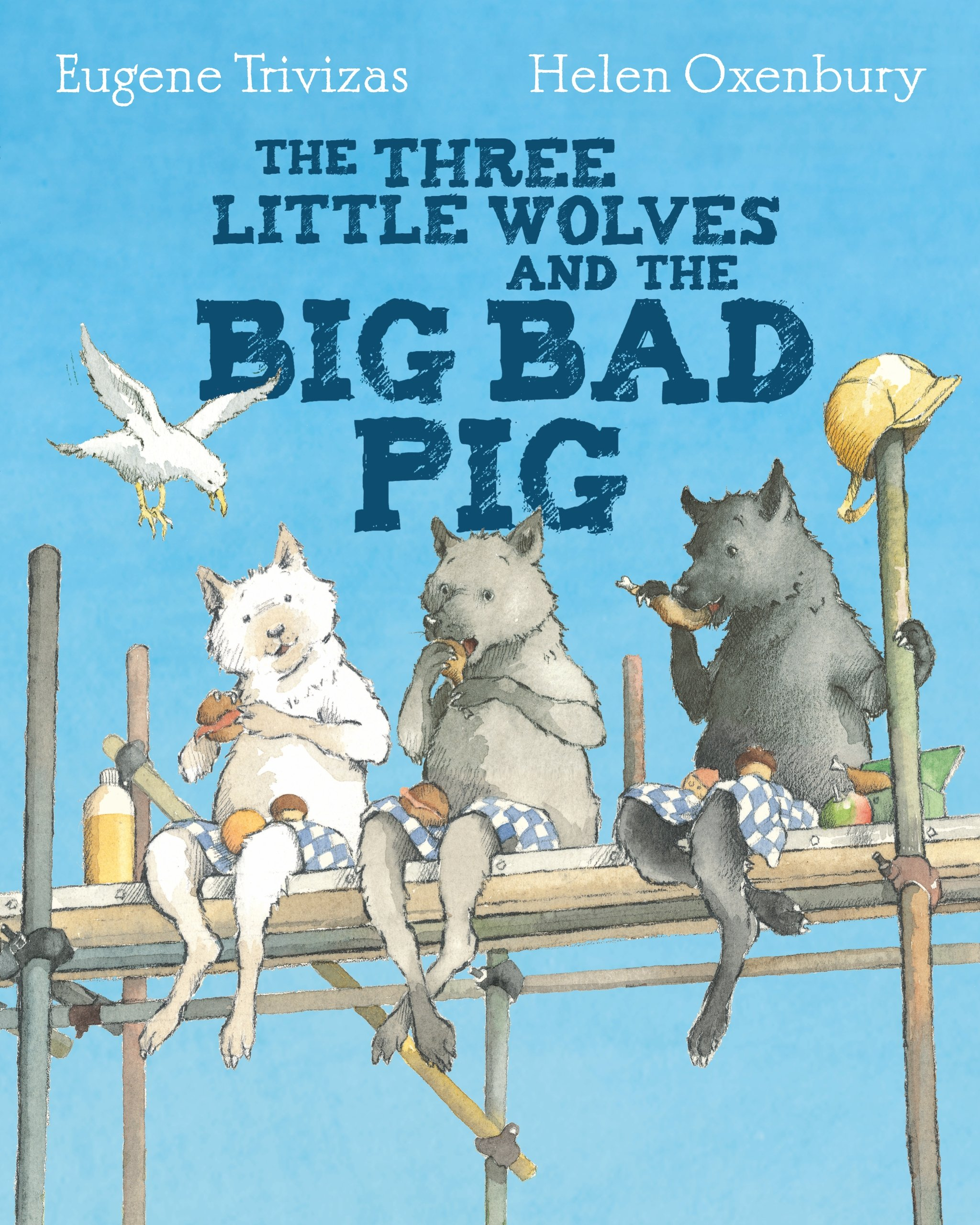 Image result for three little wolves and the pig bad pig