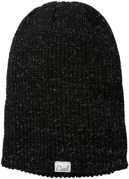 d519e2719448d Coal Women s The Hailey Mohair-Blend Ribbed Beanie with Sparkles ...
