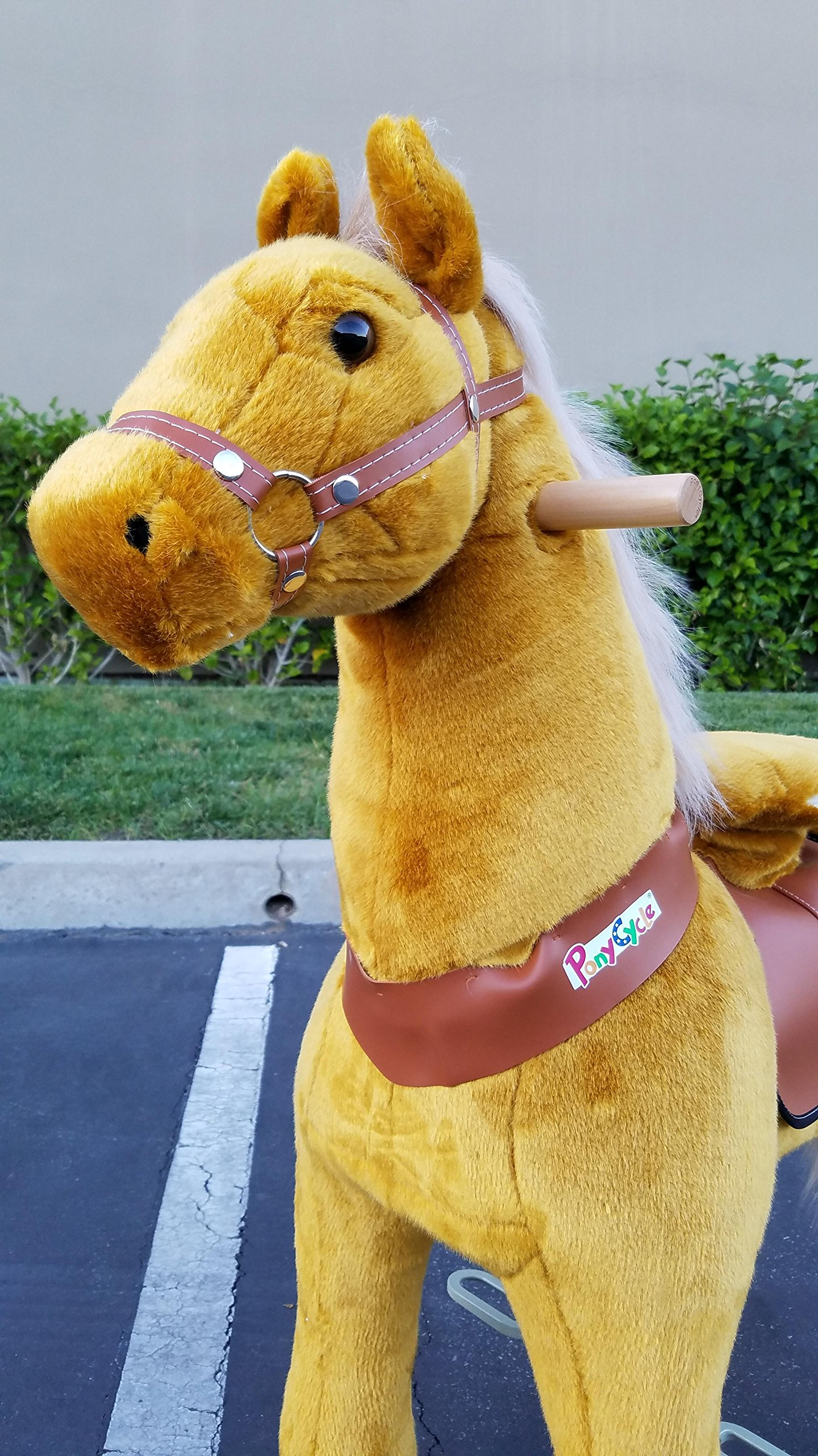 WONDERS SHOP USA - Pony Cycle Ponycycle Walking Ride On Horse - Size MEDIUM for Children 4-9 Years Old or Up to 90 Pounds