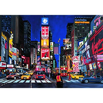 Ravensburger Times Square - 1000 Piece Jigsaw Puzzle for Adults – Every Piece is Unique, Softclick Technology Means Pieces Fit Together Perfectly: Toys & Games