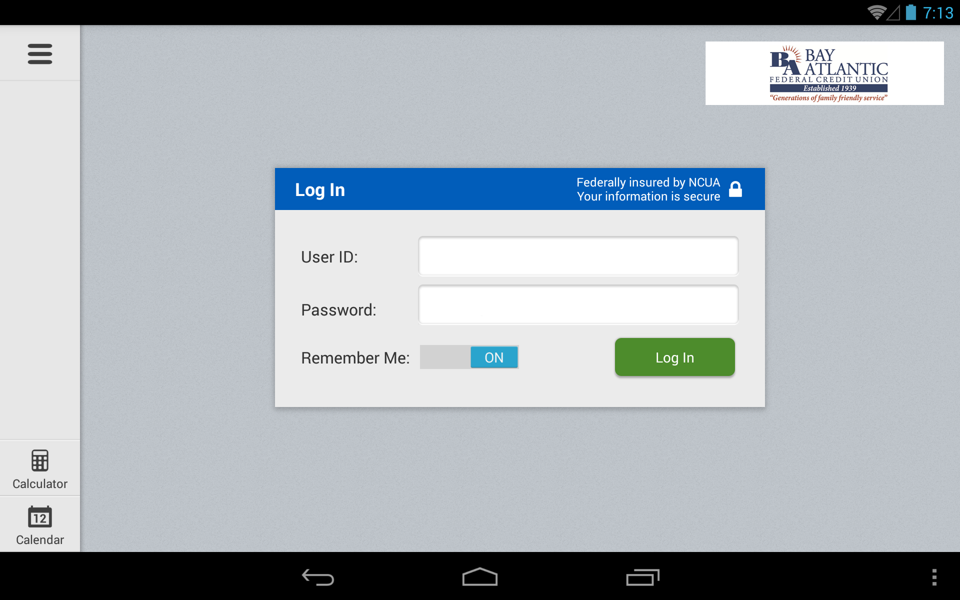 Amazoncom Bay Atlantic Fcu Tablet Appstore For Android