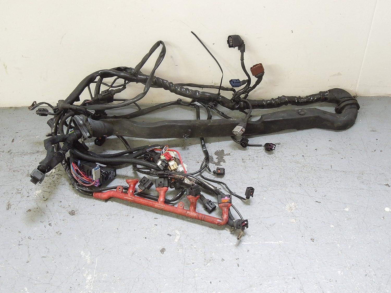 Audi A4 B6 2.0 ALT Engine Wiring Loom Harness CVT Gearbox ... Audi A Engine Wiring Harness on