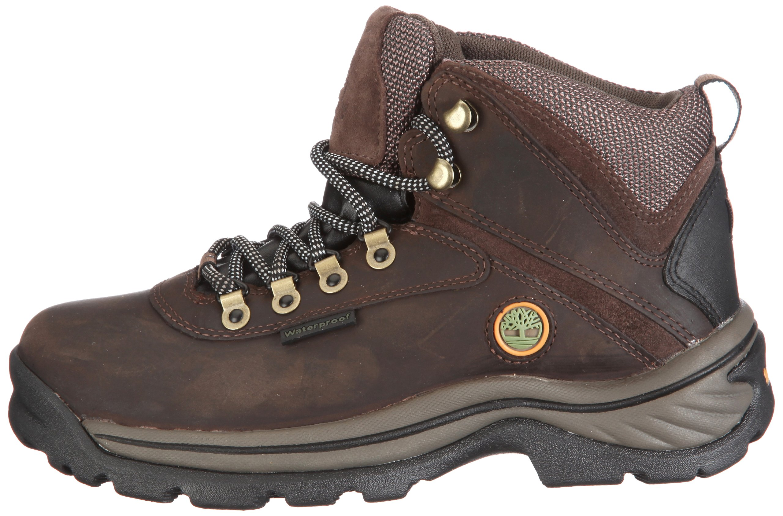 Timberland Women's White Ledge Mid Ankle Boot,Brown,9.5 W US by Timberland (Image #5)