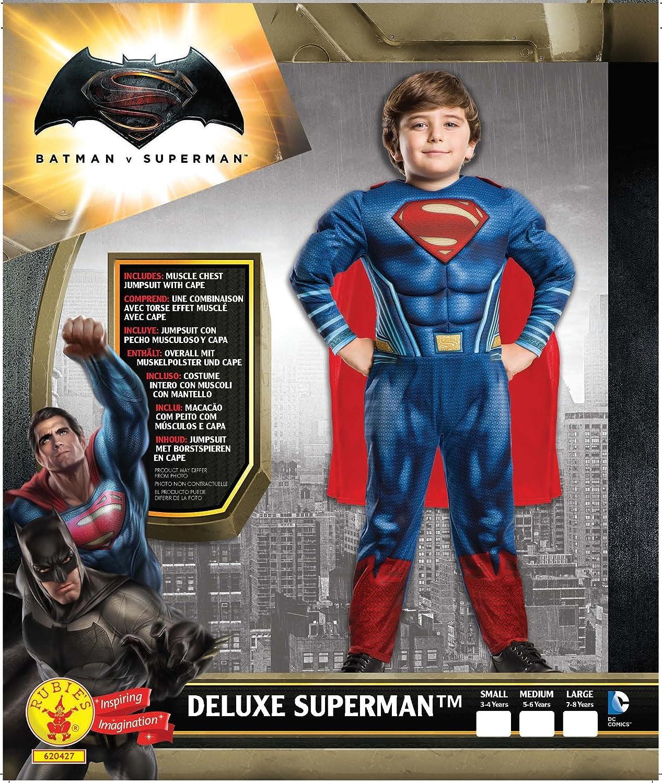 Rubies Superman - Disfraz Batman v Superman para niños, talla L ...
