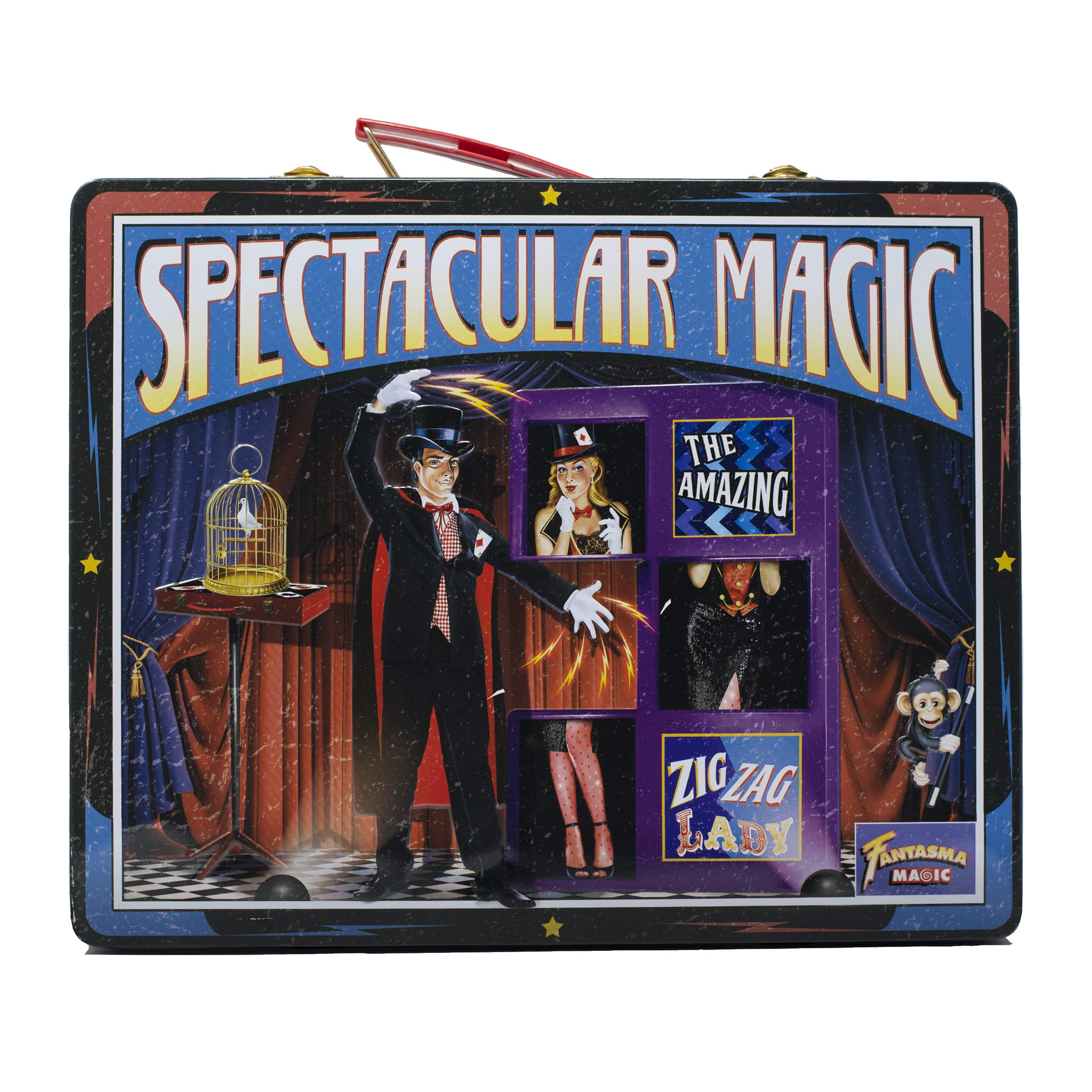Fantasma Spectacular Magic Box Set for Kids - Magic Kit and Card Trick - Learn 135 Magic Tricks - Great for Boys and Girls 7 Years and Older        by Fantasma (Image #8)