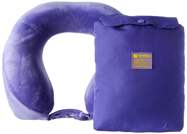 Travel Blue Tranquility Pillow Noir 26 cm Large Oreiller de Voyage Black