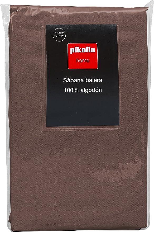 Pikolin Home - Sábana Bajera Ajustable, 100% Algodón, 150x200cm ...