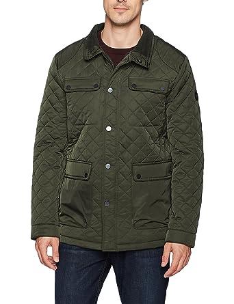 ed2f0778b2d39 Amazon.com  Bernardo Men s Jon Water Resistant Quilted Field Jacket   Clothing