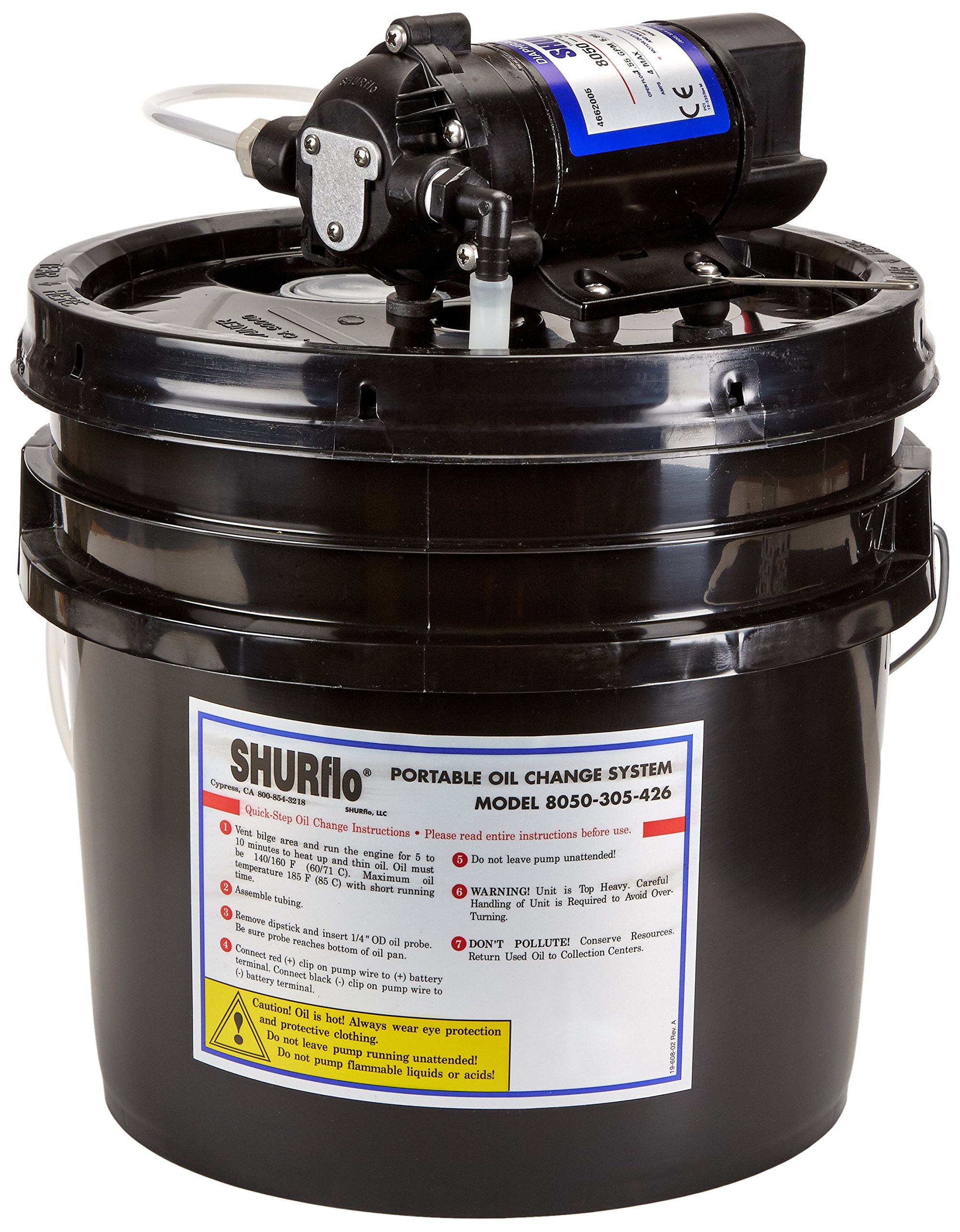 SHURFLO 8050305426 Oil Change System by SHURFLO