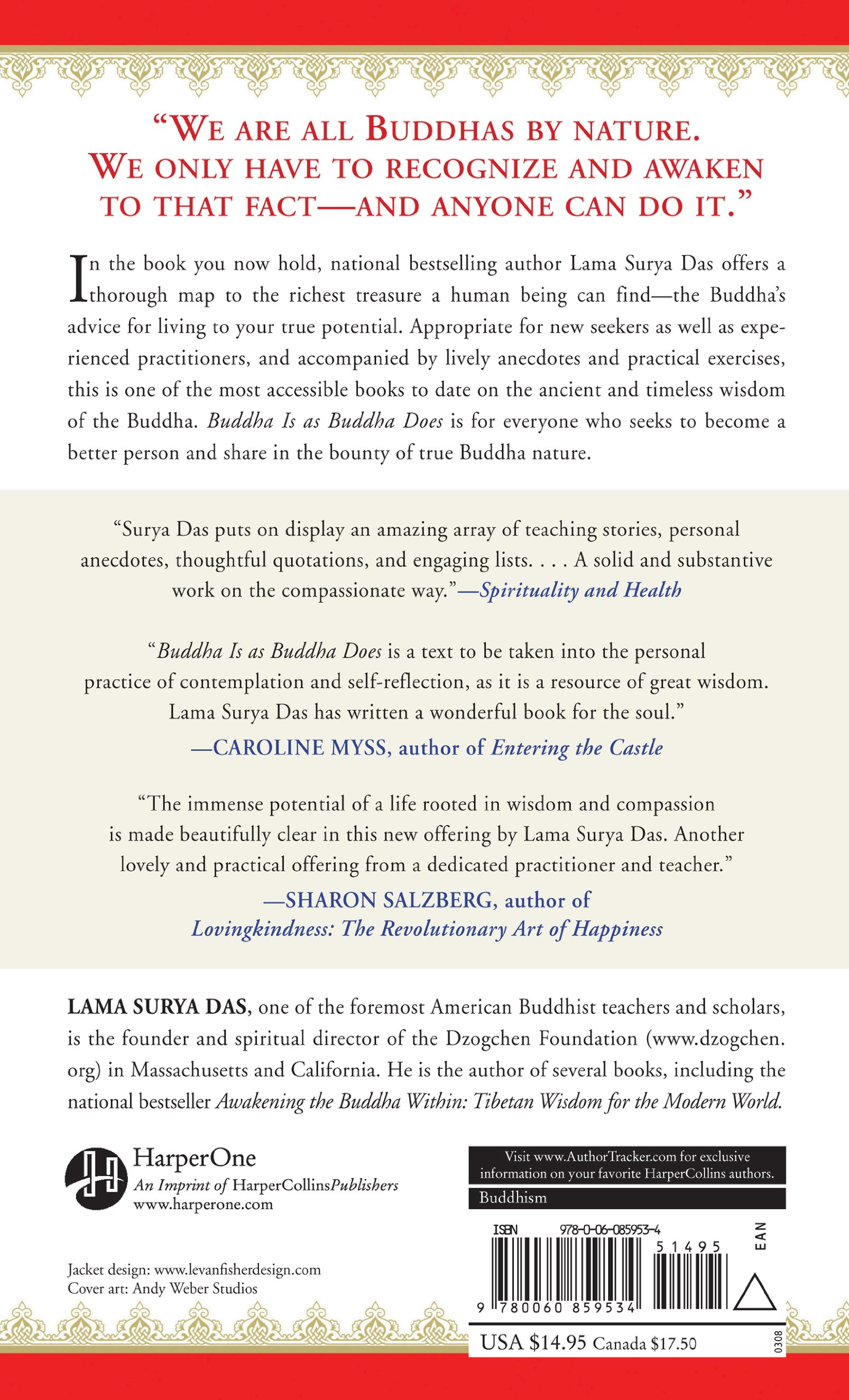 Amazoncom Buddha Is As Buddha Does The Ten Original Practices For
