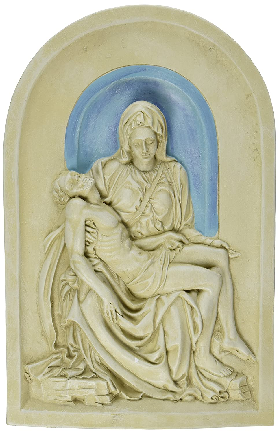 Design Toscano The Pieta (1499) Lunette Wall Sculpture EU33472