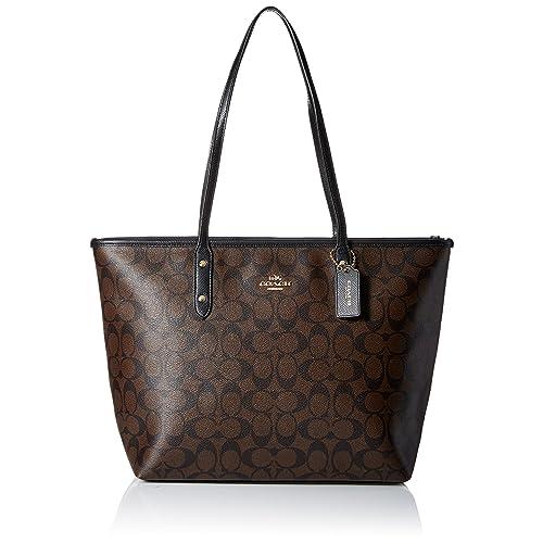 ... czech coach signature city zip tote bag handbag 85a0e c0c0a 9536f12efb24f