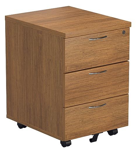 Ufficio: Ippopotamo, 3 cassetti, piedistallo, Legno, Colore ...