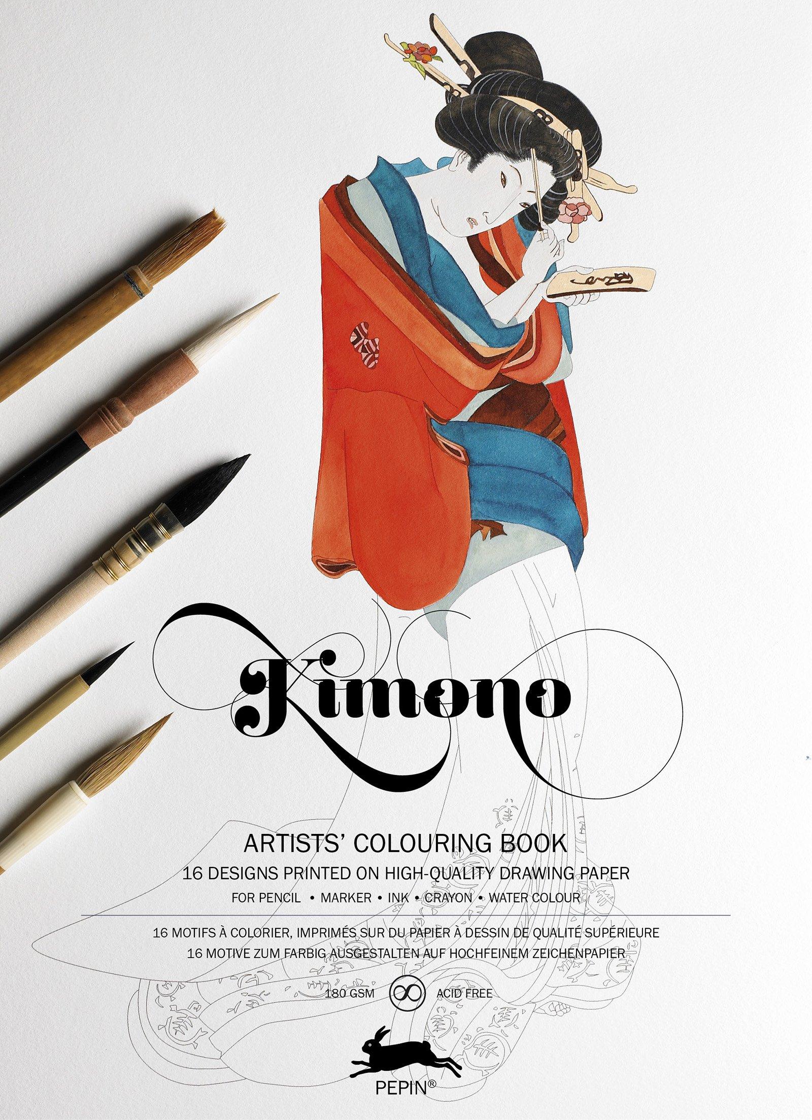 Co coloring book printer paper - Co Color Therapy Anti Stress Coloring Book App Kimono Artists Colouring Book