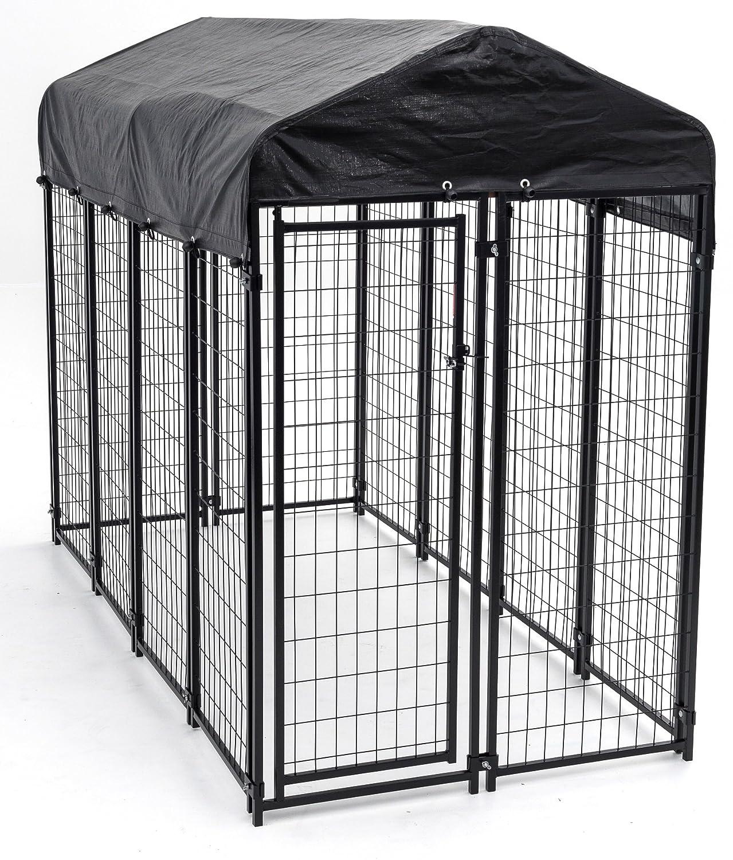 Amazon.com : Heavy Duty Dog Cage - Lucky Dog Outdoor Pet Playpen ...