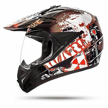 Amazonfr Ato Moto 805 Gs War Black Casque De Moto Cross Avec