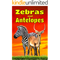 Zebras and Antelopes: Facts, Information and Beautiful Pictures about Zebras and Antelopes (Animal Books for Children Book 5)