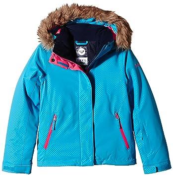 Roxy Jet Ski Girl Emboss Jacket - Chaqueta de nieve para niña, color azul, talla 14: Amazon.es: Zapatos y complementos