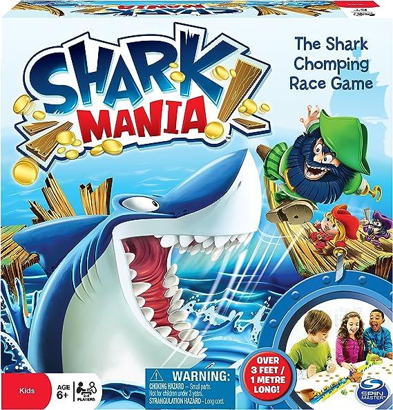 Spin Master 6024302 Shark Mania - Juego de Mesa [Importado de Alemania]: Amazon.es: Juguetes y juegos