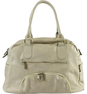OH MY BAG Sac à Main cabas femme en cuir italien porté main, épaule ... e1501be8db7d