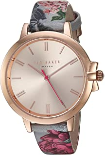 a695e5dd4af5 Ted Baker Women s  Ruth  Quartz Stainless Steel and Leather Casual Watch.