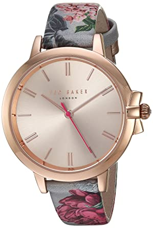 d1563a40d Buy Ted Baker Women s  Ruth  Quartz Stainless Steel and Leather Casual  watchMulti Color (Model  TE50267002) Online at Low Prices in India -  Amazon.in
