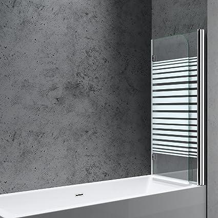 Bañera de ducha pared c140sr 117 x 141 cm en vidrio satinado pared ...