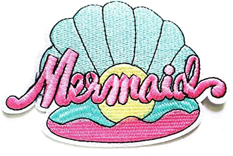 Shell Seashall Beach Sea Summer Patches for Bags Jacket T-shirt Embroidered Sign