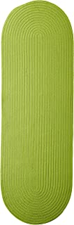 product image for Colonial Mills Boca Raton Runner Rug 2x7 Bright Green