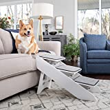 PetSafe CozyUp Steps & Ramp Combo – Dog and Cat Ramp with Stairs – Give Your Pets Easy Access to High Beds or Couch – Foldabl