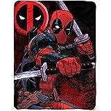 Amazoncom 48 W X 71 L Marvel Comics Deadpool Throw Blanket Home