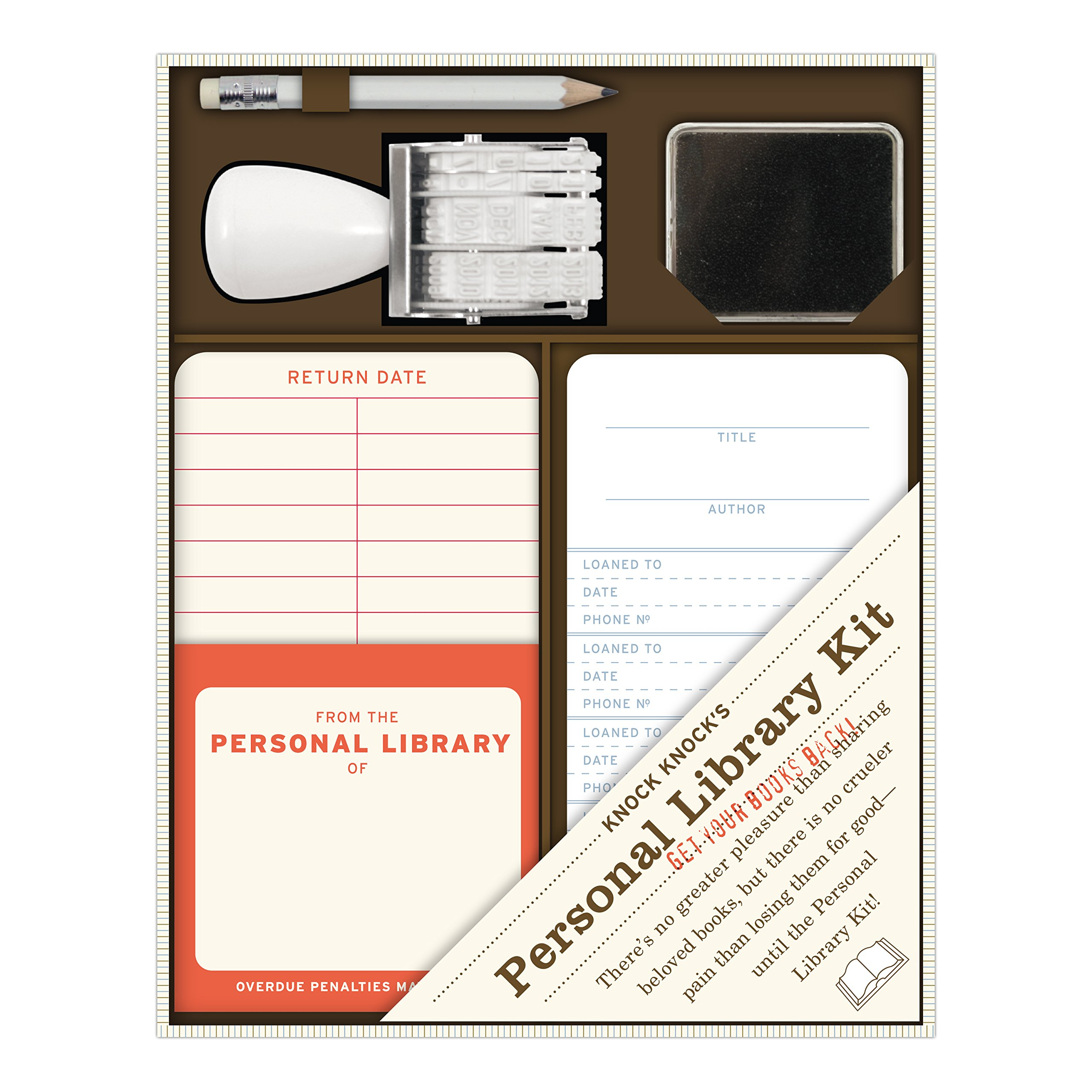 Knock Knock Personal Library Kit: Amazon.co.uk: Knock Knock: 0825703150001:  Books