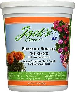 J R Peters Inc 51024 Jacks Classic No.1.5 10-30-20 Blossom Booster Fertilizer