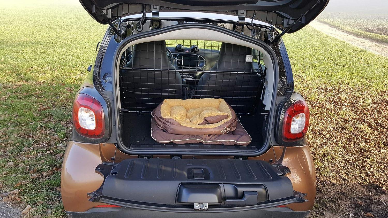MisterDotCom Hundeschutzgitter Trenngitter smart fortwo 453 ab Baujahr 11//2014