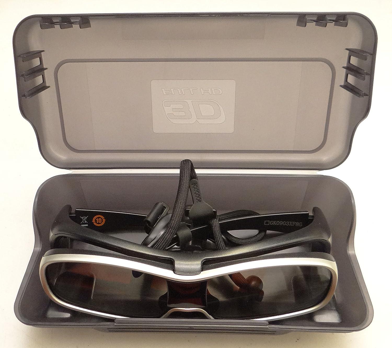 2010 Model Black and Silver Panasonic TY-EW3D10U 3D Active Shutter Eyewear for Panasonic 3D HTDVs