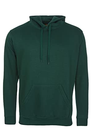 Mens Classic Hooded Hoodie Sweatshirts Size XS to 4XL By MIG - SPORTS WORK  LEISURE ( 6f225165c