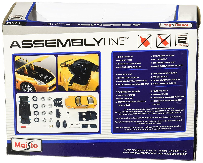 Amazon.com: Maisto 1:24 Scale Assembly Line 2009 Nissan 370Z Diecast ...