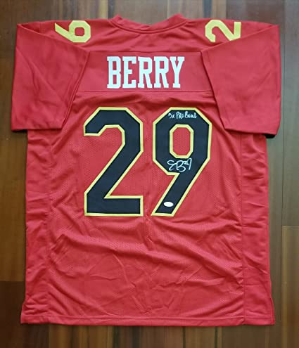 info for ac83c 49dff Eric Berry Autographed Signed Jersey Kansas City Chiefs