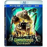 Goosebumps (3D) (3 Discs) Bilingual [Blu-ray]