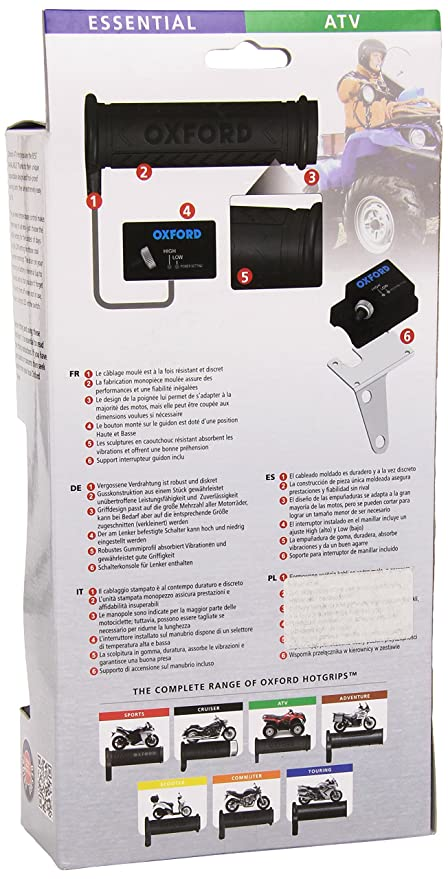 Oxford Products OF769 Heated Grips: Amazon.co.uk: Car & Motorbike