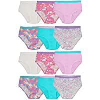 Toddler Girls' Tag-Free Cotton Underwear