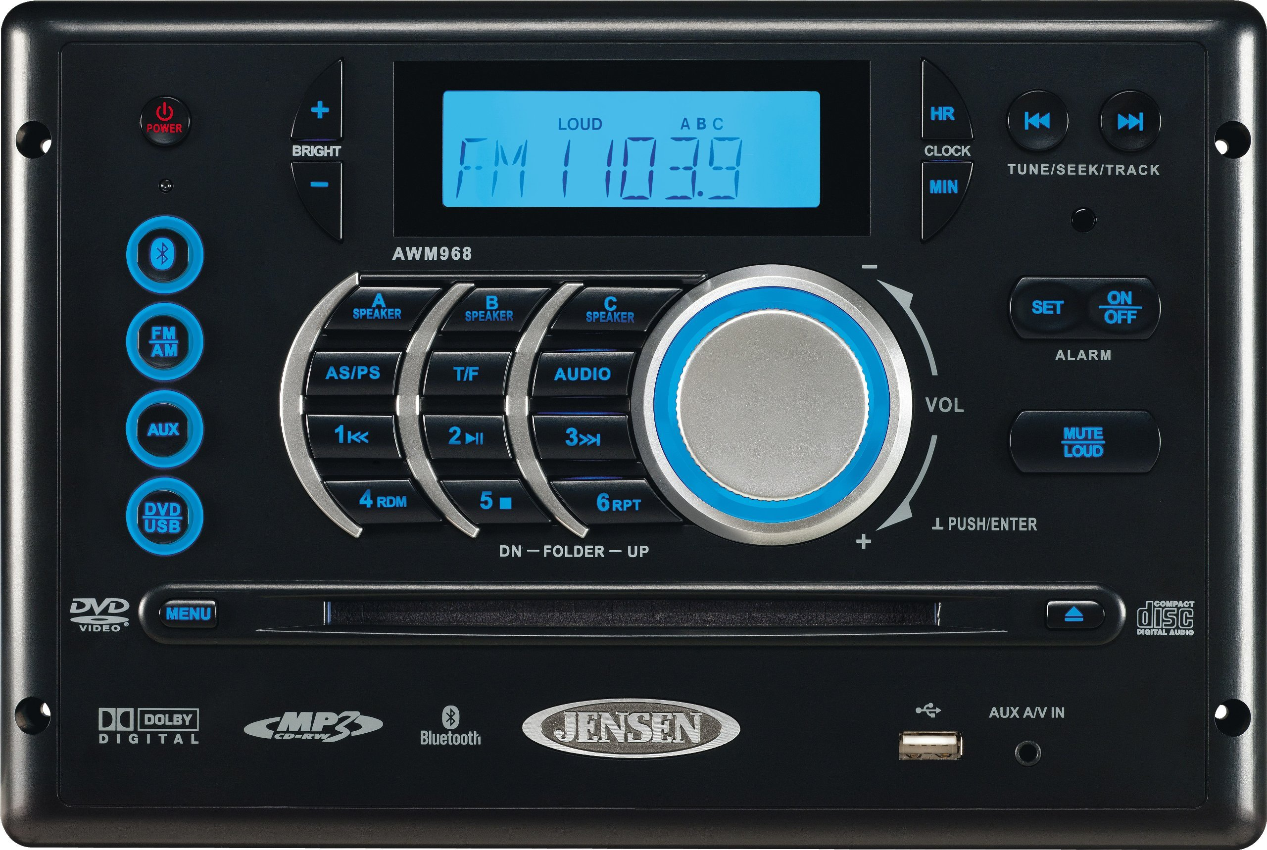 Jensen AWM968 AM/FM Radio by Jensen