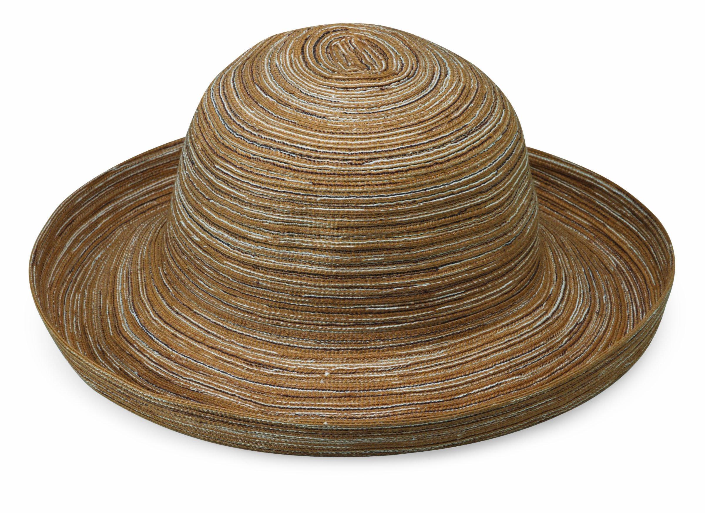 Wallaroo Hat Company Women's Sydney Sun Hat – Lightweight, Packable, Modern Style, Designed in Australia, Camel