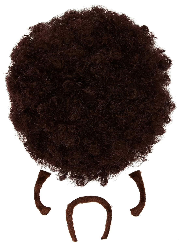 Widmann 01841?Perruque Pulp Afro Marron