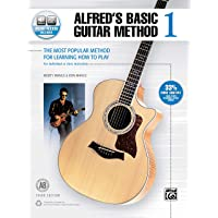Alfred's Basic Guitar Method, Bk 1: The Most Popular Method for Learning How to Play, Book & Online Audio (Alfred's…