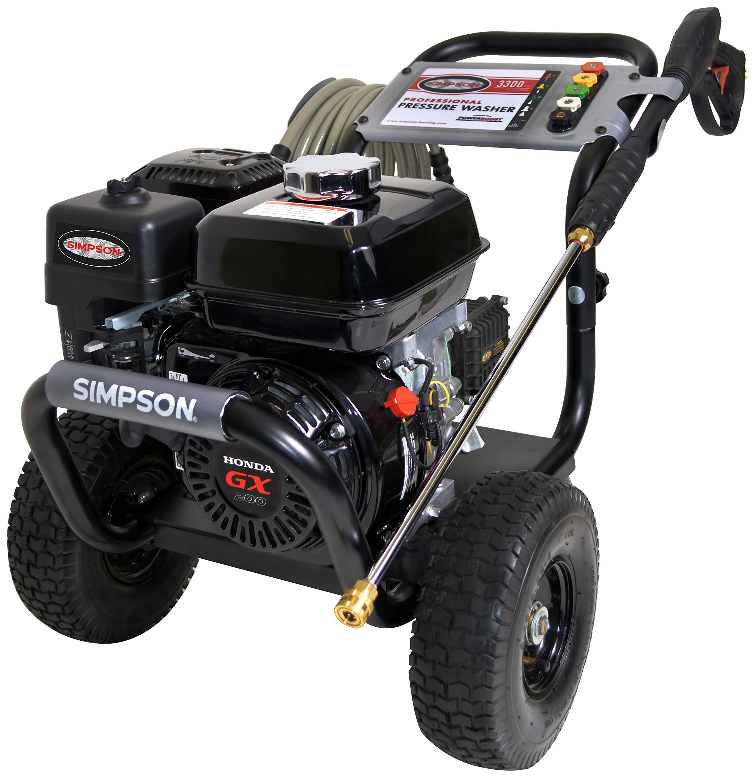 SIMPSON Cleaning PS3228-S 3200 PSI at 2.8 GPM Gas Pressure Washer Powered by HONDA with AAA Triplex Pump by Simpson Cleaning