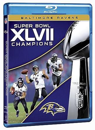 30966ee3 Amazon.com: NFL Super Bowl XLVII Champions: 2012 Baltimore Ravens ...